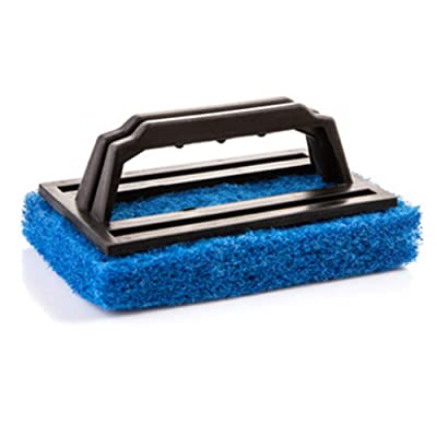 Waterline Scrubber Hot Tub Scum Line Cleaner Clean for Spas and Hot Tub Swimming pools cleaning (Blue) : Industrial & Scientific