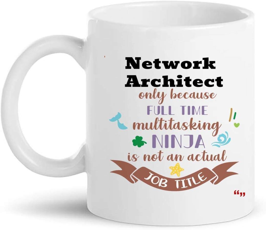 La mejor taza del arquitecto de la red taza de café de 11 onzas - regalo del arquitecto de la red Regalos personalizados para las tazas de las tazas de la camiseta de las mujeres de los hombres