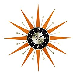 Stilnovo Wooden Starburst Clock