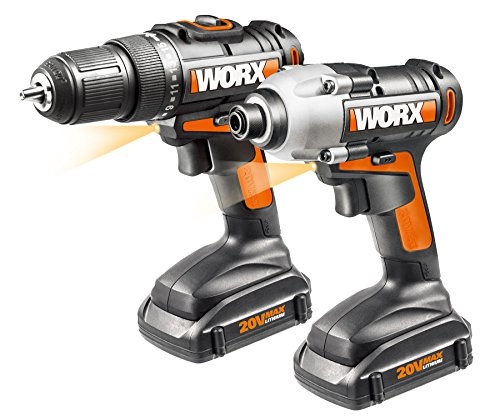 WORX WX916L 20V 2 Piece Combo Kit with Drill and Impact Driver