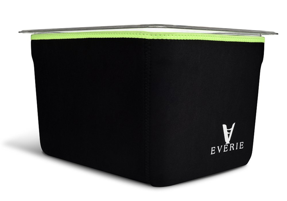 EVERIE Neoprene Sleeve for Everie Sous Vide Container 12 Quart EVC-12, Helps Faster Heat Saves Electricity. Does Not Fit for Rubbermaid. by EVERIE