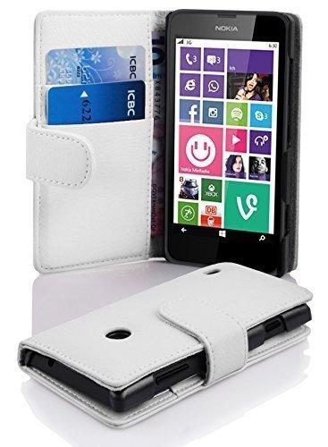 30 opinioni per Cadorabo- Custodia Book Style Design Portafoglio per Nokia Lumia 630 / 635 con