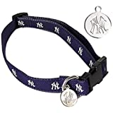 Sporty K9 New York Yankees Dog Collar, Small, My Pet Supplies
