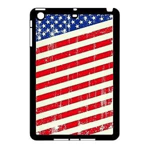iPad Mini Case Of American Retro Flag Handmade Customized Case