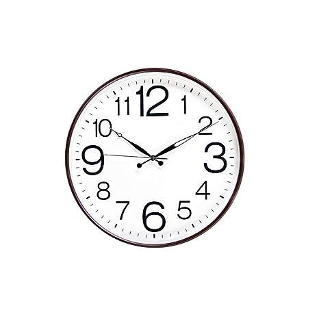 Amazon.com: Silent Wall Clock, Diameter: 50cm Clock Mute Wall Clock Clock Clock Modern Bedside Clock Non-Ticking Clock for Bathroom Kitchen Bedroo: Home & ...