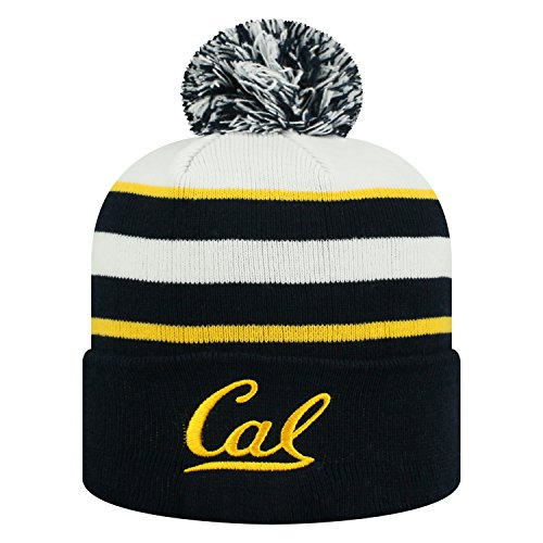Top of the World Cal Bears Official NCAA Cuffed Knit Skyview Stocking Stretch Sock Hat Cap Beanie 478371