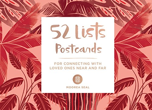 52 Lists Postcards: For Connecting with Loved Ones Near and Far