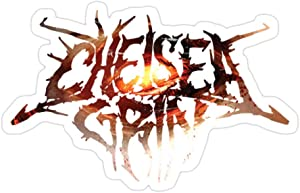 Sneaky Cover (3 PCs/Pack) Chelsea Grin Evolve Logo 3x4 Inch Die-Cut Stickers Decals for Laptop Window Car Bumper Helmet Water Bottle