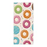 OxOHome Custom Bath Towel Quick Dry Absorbent Towels Spa Shower Wrap for College Dorms, Gyms, Locker Rooms, 27.5 x 55 inch - Coloful Donuts