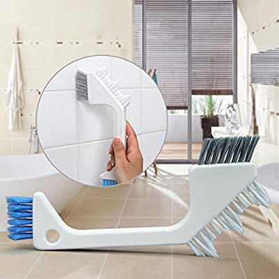 XENO-Household Bathroom Tile Brush Crevice Floor Corner Brush Kitchen Cleaning Tool