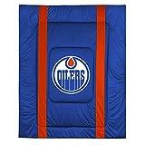 NHL Edmonton Oilers Bed Comforter Hockey Bedding