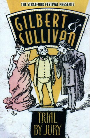 Gilbert & Sullivan - Trial By Jury, Stratford Festival (1962) / Downie, Studholme, House