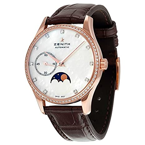 Zenith Heritage Ultra Thin Moonphase Automatic Ladies Watch 22.2310.692/81.C709
