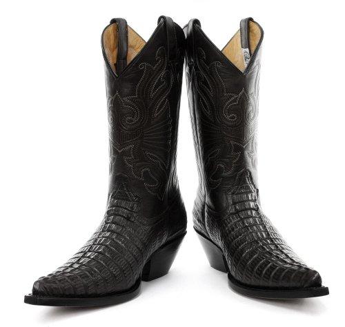 Stivali Da Cowboy Western Da Macina Di Carolina