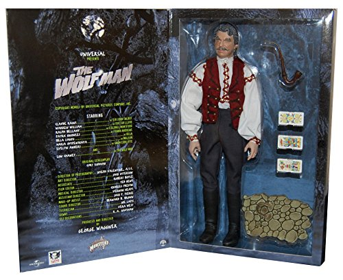 Universal Monsters The Wolf Man Bela the Gypsy 12in Collectors Figure