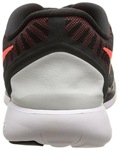 Nike Free 5.0 - Scarpe Sportive da Uomo Antracite (Anthrct/Brght Crmsn-unvrsty Rd)