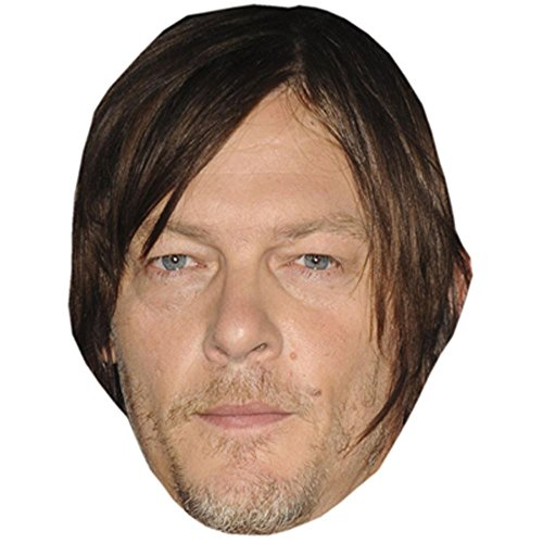Norman Reedus Celebrity Mask, Card Face and Fancy Dress Mask