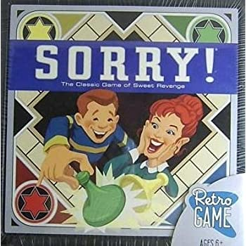 Amazon.com: Sorry Retro Edition By Parker Brothers - The Classic ...