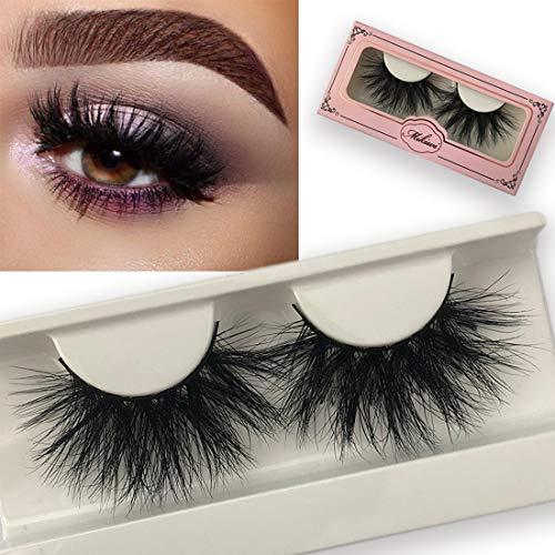 Mikiwi Lashes E01K, 25mm Mink Lashes, 3D Mink Lashes, 3D Mink Eyelashes, Dramatic Lashes, Mink Eyelashes, Mink Lashes Styip, False eyelashes (E01K)