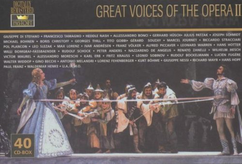 Great Voices Of The Opera Ii : Great Voices of the Opera II: Amazon.es: Música