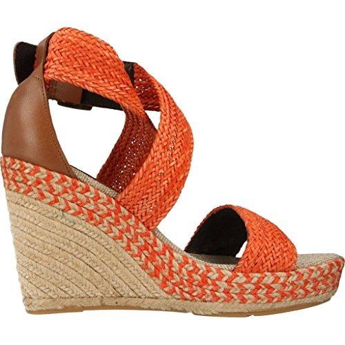 Sandalias y chanclas para mujer, color Negro , marca LUMBERJACK, modelo Sandalias Y Chanclas Para Mujer LUMBERJACK SW25506 Negro Naranja