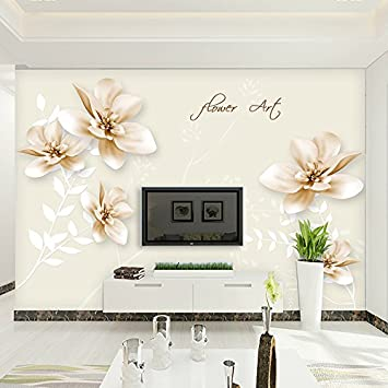SunZhi Ein Großes Wandgemälde Im Wohnzimmer TV Hintergrund Tapete Wand Tuch  Vlies Tapete Schlafzimmer Gemütliche Minimalistischen