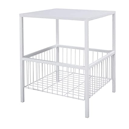 Amazon Com Simple Wrought Iron End Table Living Room Bedroom Square