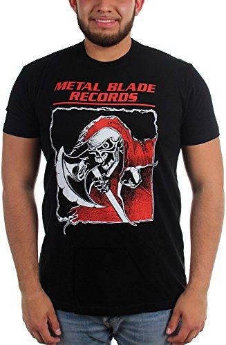 metal blade records t shirt - 1