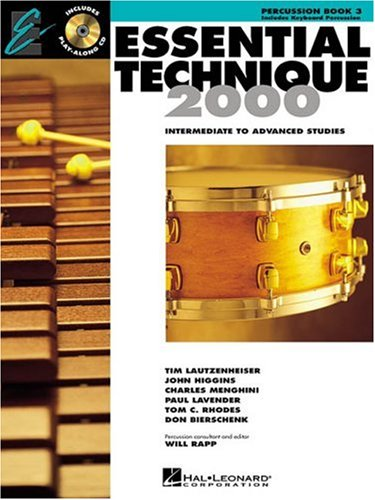 Essential Elements 2000 Percussion Book - Essential Technique 2000: Percussion (Essential Elements Method)