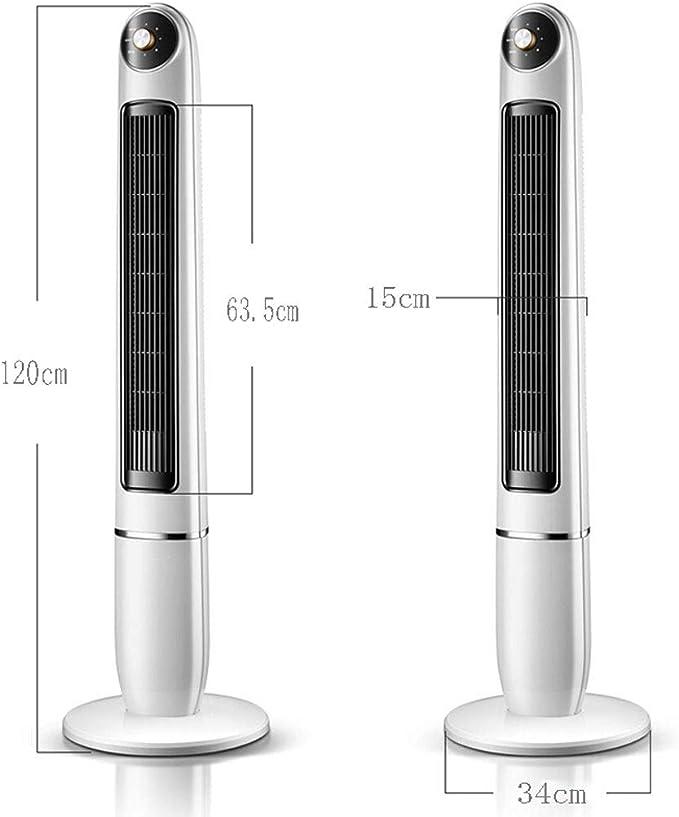 FJZ Ventilador de Piso sin Hoja Torre de Ventilador Columna