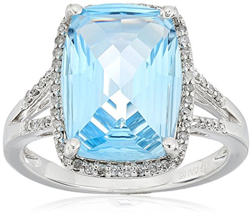 jewelry free rings watches shipping silver blue ring sky today sterling product miadora topaz