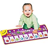 COLORTREE Educational Piano Play Mat Fun Step-to-Play Musical Carpet