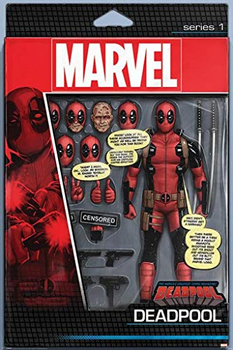 Deadpool Action Figure Comic Book Poster 24x36 Inch Poster