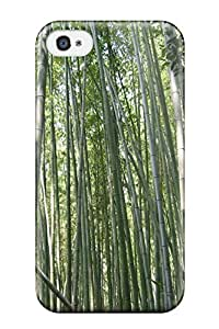 Iphone 4/4s Case, Premium Protective Case With Awesome Look - Bamboo