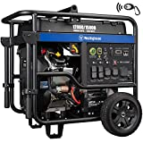 Westinghouse WGen7500 Portable Generator with Remote Electric Start - 7500 Rated...