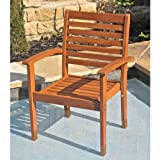 Royal Tahiti Oslo Contemporary Chairs (Set of 2) For Sale