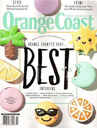 Orange Coast Magazine July 2016 | Annual Orange County's Very Best