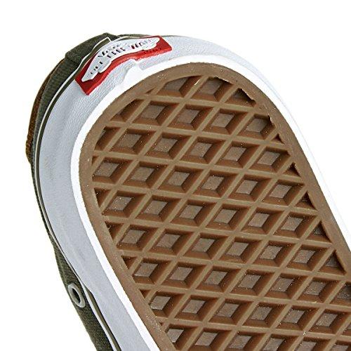 Vans Authentic, Zapatillas de skateboarding Unisex ivy green/white