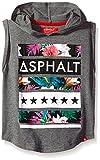 Asphalt Yacht Club Boys' Jungle Sleeveless Hoody Shirt