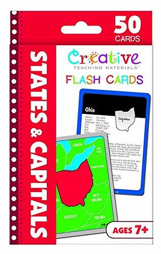 States Capitals Flash Cards Thompson