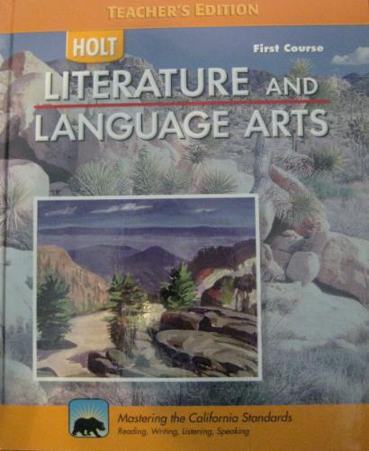 Download HOLT Literature and Language Arts First Course - Teacher's Edition PDF
