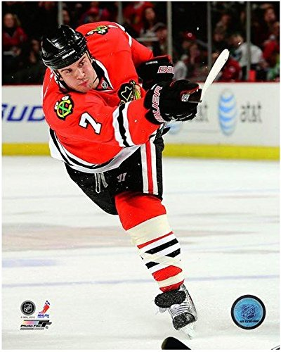 Amazon.com  Brent Seabrook Chicago Blackhawks NHL Action Photo ... e745d56b5
