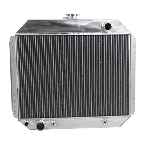 [GOWE CAR 3 ROW ALUMINUM TRUCK RADIATOR 1966-1979 FOR FORD F100 F150 F250 F350 Auto Replacement Parts Cooling System] (1966 Radiator)