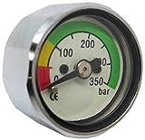 Scuba Choice Scuba Diving Pony Bottle Pressure Gauge with 350 BAR