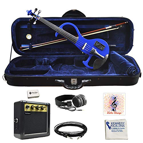 Bunnel EDGE Clearance Electric Violin Outfit Bombshell Blue Amp Included BE300 (Best Rated Violin Brands)