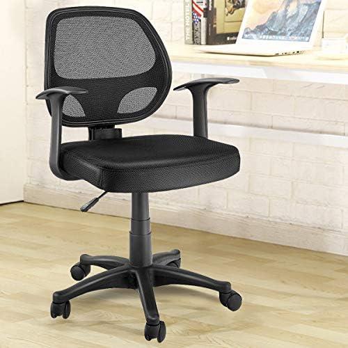 KOVALENTHOR Adjustable Ergonomic Mesh Swivel Computer Office Chair, Adjustable Office Chair Back Swivel, Computer Desk Chair, Chair with Adjustable Height