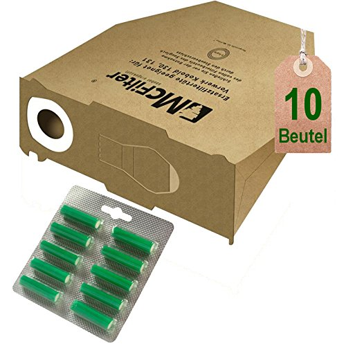 AVR-Handel 10 Bolsas de Bolsas de aspiradora y Aroma Verde ...
