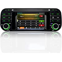 A-SURE Autoradio DVD GPS for Jeep Grand Cherokee Liberty Wrangler Caravan Interpid Dakota VCGC Two-Year-Warranty