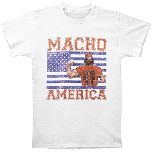 Macho Man Randy Savage Macho America Mens White T-Shirt