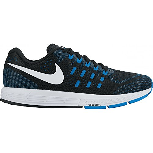 Nike Air Zoom Vomero 11 Mens Running Trainers 818099 Sneakers Shoes (UK 6 US 7 EU 40, Black White Photo Blue 014)